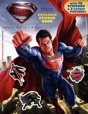 Superman: Man of Steel Reusable Sticker Book