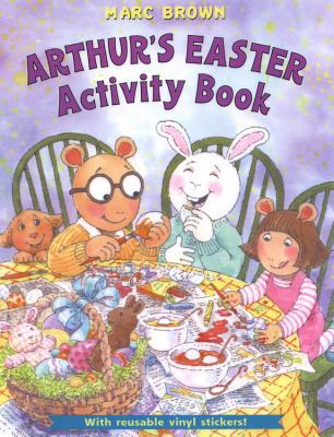 arthurs easter activity book