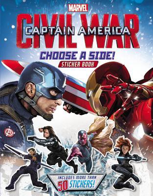 Captain America: Civil War Reusable Sticker Book