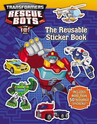 Transformers Rescue Bots: The Reusable Sticker Book