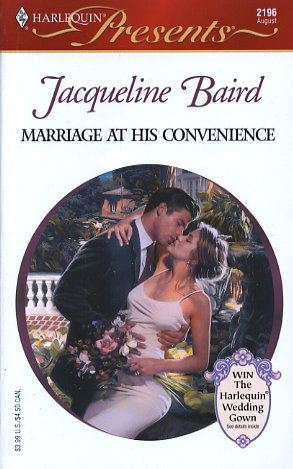 Marriage At His Convenience By Jacqueline Baird Fictiondb border=