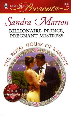 Sandra marton book list fictiondb billionaire prince pregnant mistress fandeluxe Choice Image