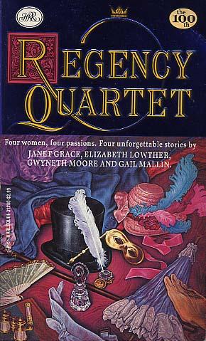 Regency Quartet: The Eccentric Miss Delaney