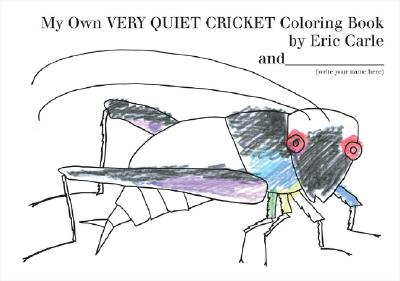 My Own Very Quiet Cricket Coloring