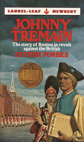 Johnny tremain by esther forbes fictiondb fandeluxe