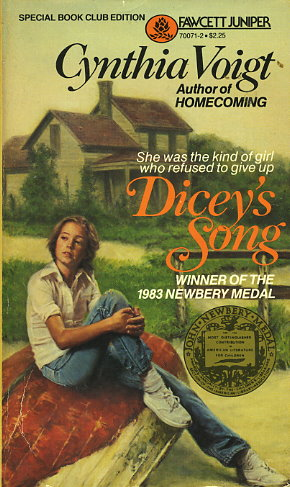 an analysis of the novel diceys song by cynthia voigt