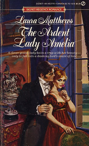 The Ardent Lady Amelia
