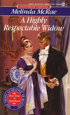 A Highly Respectable Widow
