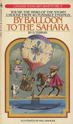 By Balloon to the Sahara / Danger in the Desert