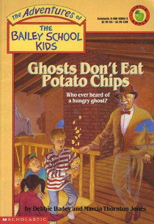 Ghosts Don T Eat Potato Chips By Marcia T Jones Debbie