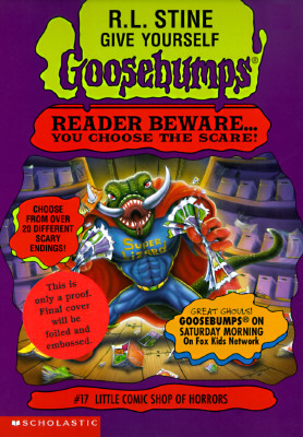 Little Comic Shop of Horrors