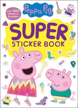 Peppa's Super Sticker Book
