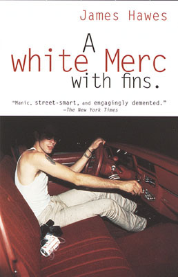 A White Merc with Fins