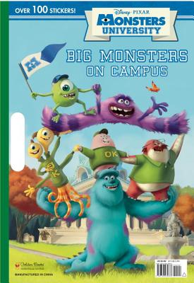 Monsters University Giant Coloring Book