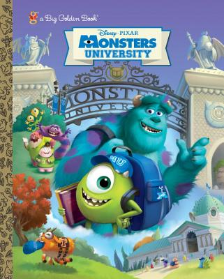 Monsters University Big Golden Book