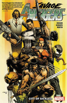 Savage Avengers Vol. 1: City Of Sickles