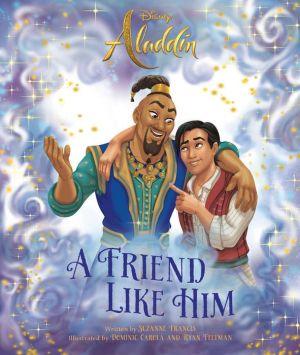 Aladdin Live Action Genie Picture Book