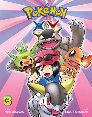 Pokemon X Y, Volume 3