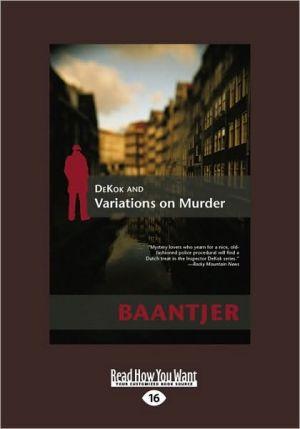DeKok and Variations on Murder