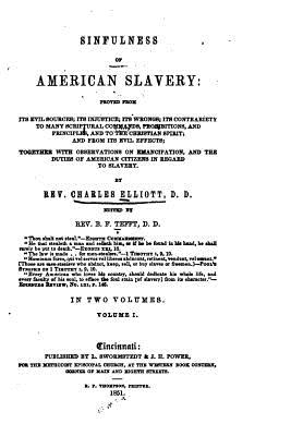 Sinfulness of American Slavery