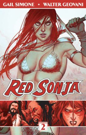 Red Sonja, Volume 2: The Art of Blood and Fire