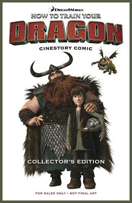 DreamWorks How to Train Your Dragon Cinestory Comic - Collector's Edition Hardcover