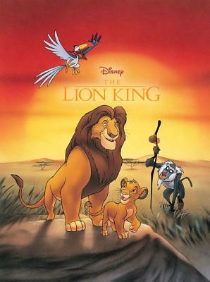Disney the Lion King Movie Comic