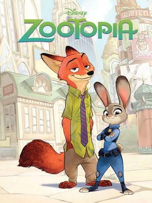 Disney Zootopia Movie Comic