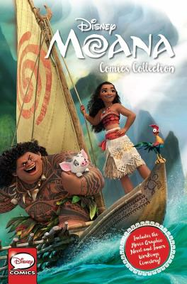 Disney Moana Comics Collection
