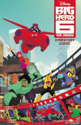 Disney Big Hero 6 The Series Cinestory Comic