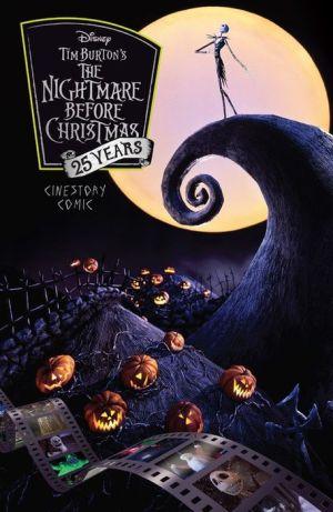 Tim Burton's The Nightmare Before Christmas Cinestory Comic Anniversary Special Edition