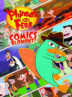 Disney's Phineas and Ferb Treasury Volume 1 Tp