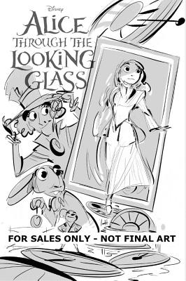 Disney Alice Through the Looking Glass - Graphic Novel