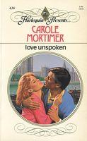 Love Unspoken by Carole Mortimer - FictionDB