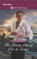 The Many Sins of Cris de Feaux by Louise Allen