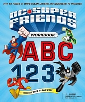 DC Super Friends Workbook ABC 123
