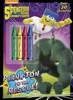 Spongebob Movie Tie-In Chunky Crayon with Stickers