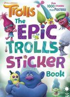The Epic Trolls Sticker Book