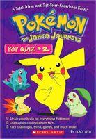 Pokemon: The Johto Journeys Pop Quiz #2