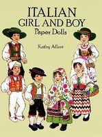 Italian Girl and Boy Paper Dolls