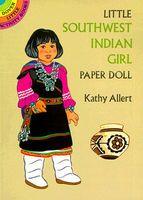 Little Southwest Indian Girl Paper Doll Little Southwest Indian Girl Paper Doll