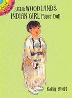 Little Woodlands Indian Girl Paper Doll