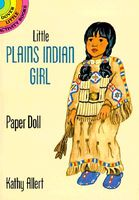 Little Plains Indian Girl Paper Doll