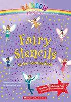Fairy Stencils Sticker Coloring Book