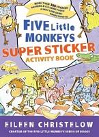 Five Little Monkeys Super Sticker Activity Book