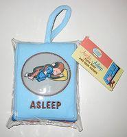 Curious Baby Awake/Asleep Cloth Book
