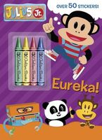 Julius Jr. Chunky Crayon Book with Stickers