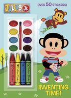 Julius Jr. Color & Paint Plus Stickers Book