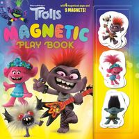 Trolls Magnetic Play Book
