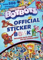 Transformers BotBots Official Sticker Book